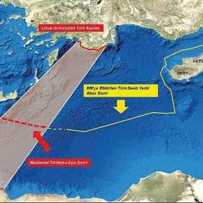 Προοίμιο πολεμικών εξελίξεων: Τουρκία-Λιβύη ετοιμάζουν οριοθέτησηΑΟΖ