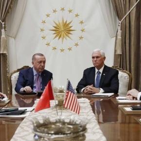 Τραμπ και Πούτιν »στραγγάλισαν» τονΕρντογάν