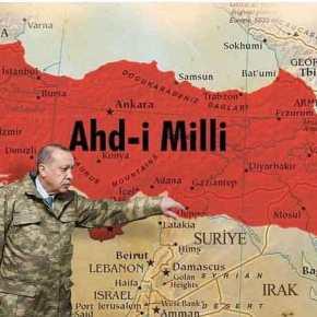 Χάρτες-σοκ από Χ. Ακάρ: Θράκη, Μακεδονία, Αιγαίο & Κύπρος στα χρώματα τηςΤουρκίας!