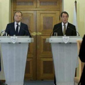 Τούσκ: Είμαστε στο πλευρό της Κύπρου – Παράνομες οιγεωτρήσεις