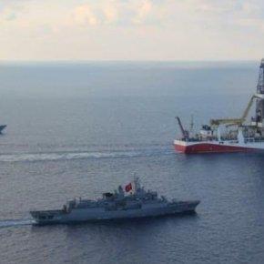 Το «Γιαβούζ» συνοδεία πολεμικών πλοίων μπήκε στο τεμάχιο 7 – Αθήνα και Λευκωσία θα βλέπουν πάλι «αποτυχημένεςαπόπειρες»