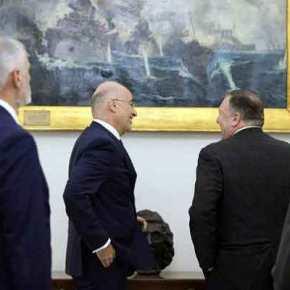 Έξαλλοι οι Τούρκοι: «Ο Πομπέο χαμογελά με το «Αβέρωφ» να βυθίζει τον τουρκικό στόλο» – Δείτεεικόνες