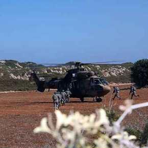 Η Άγκυρα αναβαθμίζει την ένταση: Άσκηση αερομεταφοράς στρατευμάτων από την Τουρκία στα κατεχόμενα –Εικόνες