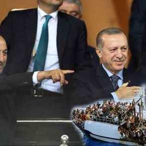 Βρώμικο παιχνίδι Ερντογάν-Τσαβούσογλου κατά της Ελλάδας για το προσφυγικό! Επιμένουν σταψεύδη