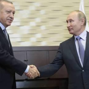 Συνάντηση Πούτιν – Ερντογάν: «Τσάρος» και «σουλτάνος» παζαρεύουν το μέλλον τηςΣυρίας