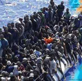 «Πάρτι» στο Αιγαίο από τους παράνομους μετανάστες: Κύματα Κονγκολέζων, Σομαλών, Αφγανών αποβιβάζονται κατάεκατοντάδες!