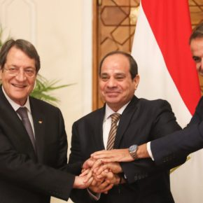 Καταδίκη της τουρκικής προκλητικότητας στην τριμερή Ελλάδας, Αιγύπτου καιΚύπρου