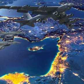 ΠΡΟΣΩΜΟΙΩΣΗ ΒΟΜΒΑΡΔΙΣΜΟΥ της ΤΟΥΡΚΙΑΣ…!! Αμερικανικά βομβαρδιστικά Β-52 σε Αιγαίο και Κύπρο… συνοδευόμενα από ΕλληνικάF-16…!!