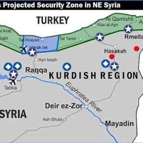 """Ο """"προφητικός"""" χάρτης της Μοσάντ για την τουρκική εισβολή και το διεθνές δικαστήριο για τονΕρντογάν"""