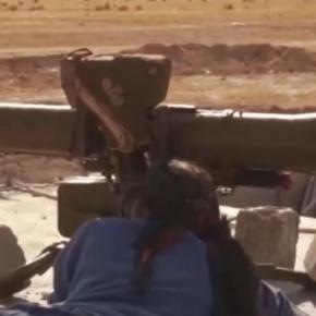 Ρέει άφθονο το αίμα τον Τούρκων: Βίντεο-ντοκουμέντο με Κούρδισες μαχήτριες να τους χτυπούν μεπύραυλο
