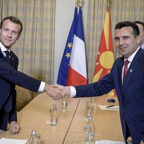 Μετά το γαλλικό βέτο ο Μακρόν ετοιμάζει ένταξη «light» στην ΕΕ για ταΣκόπια
