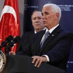 Δαμασκός: «Ασαφής» η συμφωνία ΗΠΑ–Τουρκίας για κατάπαυση του πυρός – Άγκυρα:«Πήραμε αυτό πουθέλαμε»