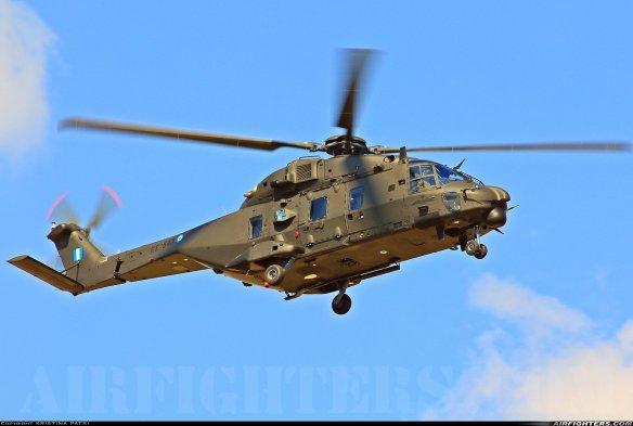 Ξεμπλοκάρουν οι παραδόσεις των υπόλοιπων έξι ελικοπτέρων NH-90