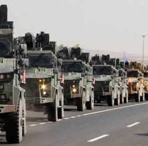 Oι πρώτες τουρκικές απώλειες: «Καταστρέψαμε 4 άρματα μάχης» λένε οι Κούρδοι – Σκοτώθηκαν δεκάδεςτουρκόφωνοι