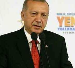 Ρ.Τ.Ερντογάν: «Mπαίνουμε ανατολικά του Ευφράτη σε 48 ώρες – Τελείωσαν ταλόγια»