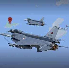 Μαζικές υπερπτήσεις τουρκικών μαχητικών: 12 φορές μέσα σε 2 ώρες πέταξαν επάνω από ελληνικό έδαφος! – Τισυμβαίνει;