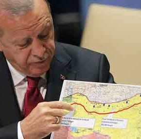 Απειλές Ερντογάν: «Αν η βόρεια Συρία δεν καθαρίσει από τους Κούρδους θα την καθαρίσουμε μόνοι μας, χωρίς τηνΡωσία»