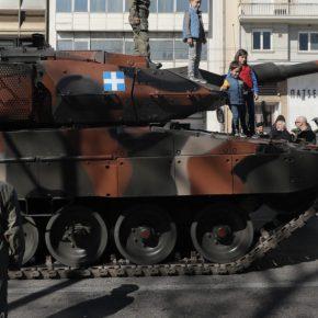 28η Οκτωβρίου: Πρώτες εικόνες από την «πρόβα» της στρατιωτικής παρέλασης[pics,vid]