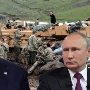 Η προστασία των Κούρδων περνά από τον Τραμπ στονΠούτιν