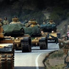 Οι Τούρκοι εισέβαλαν στηΣυρία
