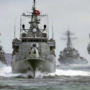 Ξεπερνά τα όρια η Τουρκία – Δυνάμεις του ΠΝ συνοδεύουν το Γιαβούζ[pics]