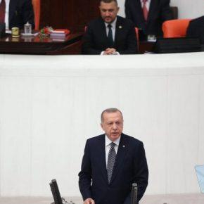 """Ερντογάν για τη Μεσόγειο: Πρώτη φορά """"απολογητικός"""" τόνος με στόχο""""έξω"""";"""