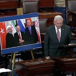 """""""Ως εδώ με τον Ερντογάν""""! Δείτε την ομιλία κόλαφο του γερουσιαστή Μενέντεζ για τηνΤουρκία"""