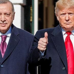 Ο Ντόναλντ Τραμπ υποδέχθηκε τονΕρντογάν