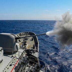 Μεγάλο επίτευγμα για την ελληνική αμυντική βιομηχανία: Το πρώτο μη επανδρωμένο ταχύπλοο είναιγεγονός!
