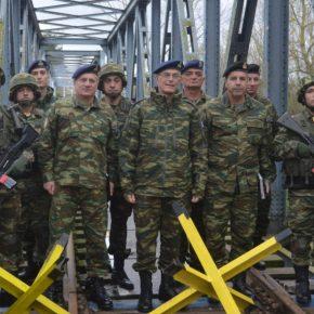 Α/ΓΕΣ: Επίσκεψη Αντιστράτηγου Καμπά σε Στρατηγεία και Φυλάκια του Έβρου[pics]