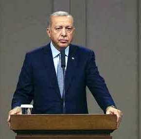 Ρ.Τ.Ερντογάν: «Ξεκινάμε γεωτρήσεις στην ΑΟΖ που ανακηρύξαμε με τηΛιβύη»