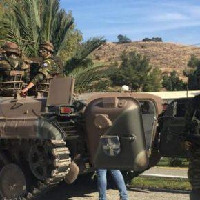ΚΥΠΡΟΣ: BMP-1 Τ/Θ εξοπλισμένα με πυροβόλο ZU-23-2 παρέλαβε ηΕΛΔΥΚ