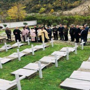 Τα οστά 193 Ελλήνων πεσόντων του '40, ενταφιάστηκαν στηνΑλβανία