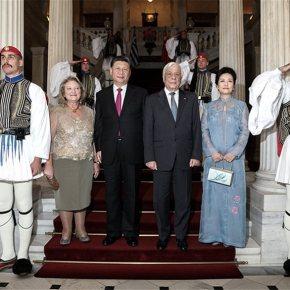 Δείπνο στο Προεδρικό για τον Κινέζο πρόεδρο: Τα απρόσμενα πηγαδάκια (εικόνες)Πλήρες φωτογραφικόρεπορτάζ.