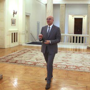 Επίσκεψη Δένδια στο Δυρράχιο: Είμαστε δίπλα στον αλβανικό λαό, στην κυβέρνησή του, για να προσφέρουμε ό,τι μπορούμε.
