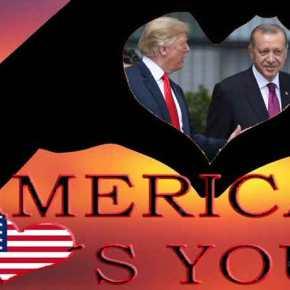 «Γη & ύδωρ» στον Ερντογάν από τις ΗΠΑ: 100 δισ. δολάρια & οπλικά συστήματα για να εγκαταλείψει τηΡωσία
