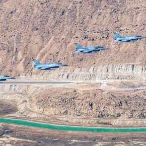 Υποκλίθηκαν στην ανωτερότητα της ΠΑ οι σύμμαχοί μας: Tα περισσότερα «kills» πέτυχαν τα ελληνικά «γεράκια» στη «BlueFlag»