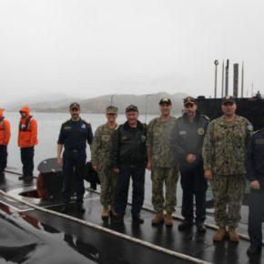 Το ΓΕΝ και το Αρχηγείο Στόλου επισκέφθηκε ο διοικητής υποβρυχίων του ΝΑΤΟ[pics]