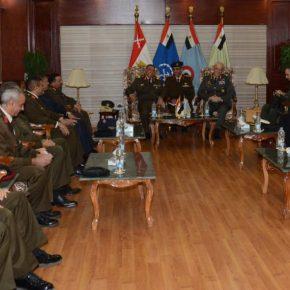 ΓΕΣ: Επίσημη επίσκεψη του Αρχηγού Καμπά στην Αίγυπτο[pics]
