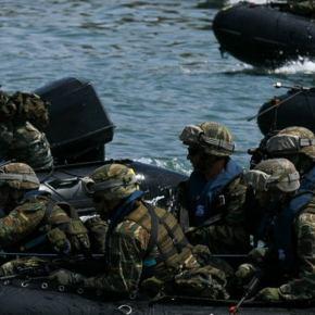 Σκηνικό σύγκρουσης στήνουν οι Τούρκοι: «Όχι στρατός σε αποστρατικοποιημένα νησιά!» – «Πόνεσαν» με την άσκηση στοΚαστελόριζο