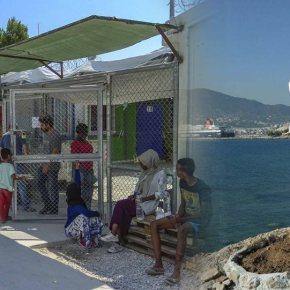 Β. Αιγαίο: «Οχι» λένε οι νησιώτες στη δημιουργία κλειστών κέντρων για τους μετανάστες.