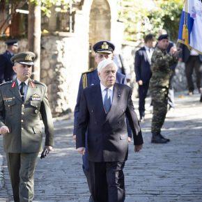 Προκόπης Παυλόπουλος: «Είμαστε έτοιμοι να υπερασπισθούμε τα σύνορα και το έδαφος της πατρίδαςμας»