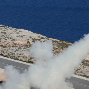 ΓΕΣ: Άσκηση πυροβολικού στο Πεδίο Μάχης Κρήτης[pics]