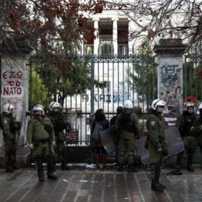 Επέτειος Πολυτεχνείου: Γρίφος το ιστορικό κτίριο του ΕΜΠ – Πάνω από 5.000 αστυνομικοί στοδρόμο