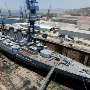 Το κινεζικό ναυπηγικό ενδιαφέρον και οΣκαραμαγκάς