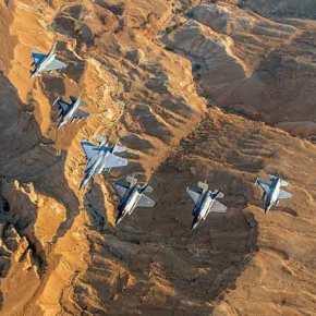 «Έγραψαν» ιστορία τα Ελληνικά «φτερά»: Το Ισραήλ παρέδωσε στα «γεράκια» της ΠΑ την ηγεσία των σχηματισμών στη «BlueFlag»