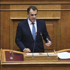 Παρέμβαση ΥΕΘΑ Νικόλαου Παναγιωτόπουλου στην Ολομέλεια της Βουλής κατά τη συζήτηση επί του Σ/Ν τουΥΠΕΘΑ