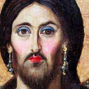 Ναύπλιο: Σάλος με αφίσα για πάρτι που παρουσιάζει τον Χριστό με μακιγιάζ καισκουλαρίκια