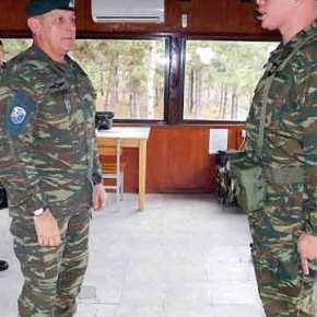 Επισκέψεις Διοικητή 1ης Στρατιάς Κ. Φλώρου στον Έβρο(ΦΩΤΟ)