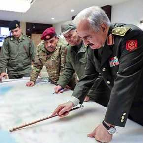Επιχείρηση σοκ & δέος από LNA, ΗΑΕ & Αίγυπτο: Βομβάρδισαν τουρκική αποστολή στηΛιβύη